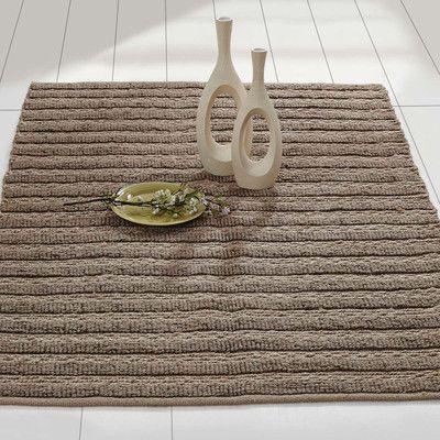 August Grove Milton Hand-Woven Silver Area Rug Rug Size: 4' x 6'