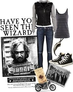 Sirius Black~I would definitely wear this.
