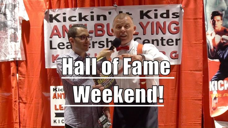 The 2018 Action Martial Arts Hall of Fame Weekend featuring #WWE, #UFC #MMA, and #Boxing legends!