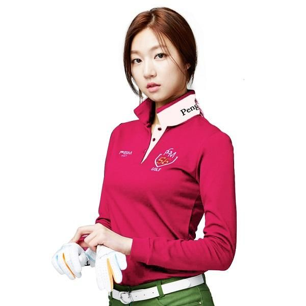 [Visit to Buy] Brand PGM Golf Apparel Clothing Women Polo Long-sleeved Shirt New Femmes Quick Dry Golf Clothes Lady Sportswear 2017 Tshirt  #Advertisement