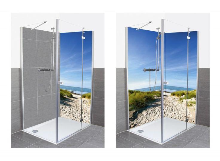 12 besten duschr ckw nde von artland bilder auf pinterest wohnaccessoires landschaften und steine. Black Bedroom Furniture Sets. Home Design Ideas