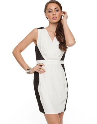 Monochrome Chic - What I Wore and 20 Dress Finds! - Mama Stylista