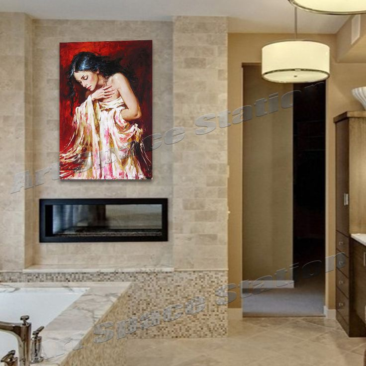 Ню девушка портрет маслом фотографии пробуждение эндрю атрощенко ручная роспись холст стены искусства украшение для гостиной