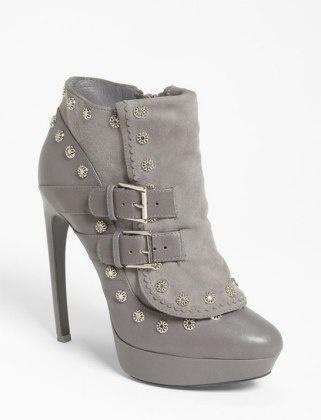 50 Dream Fall Shoes : Lucky Magazine  ALEXANDER MCQUEEN BUCKLE BOOT, $1,365, NORDSTROM.COM