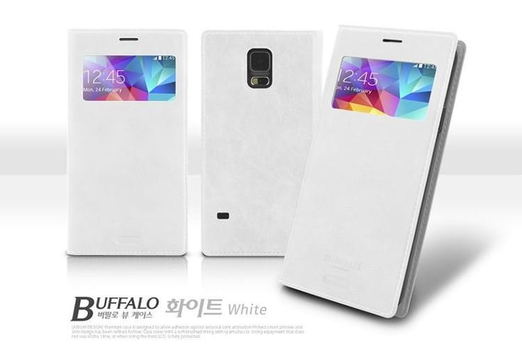 ARIUM BUFFALO VINTAGE LEATHER VIEW CASE FOR LG F70. $14.99