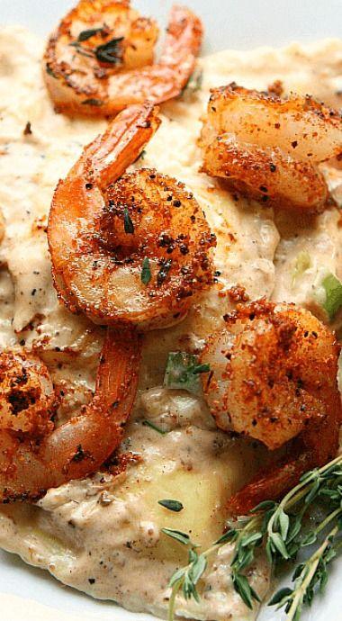 Shrimp and Cheese Ravioli