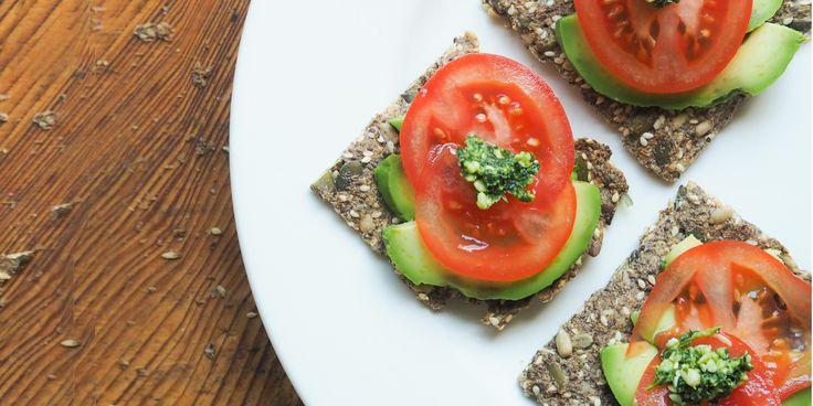 Gluten-free Seed Crackers via @iquitsugar