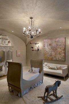 Interior - mediterranean - Nursery - Houston - Allan Edwards Builder Inc