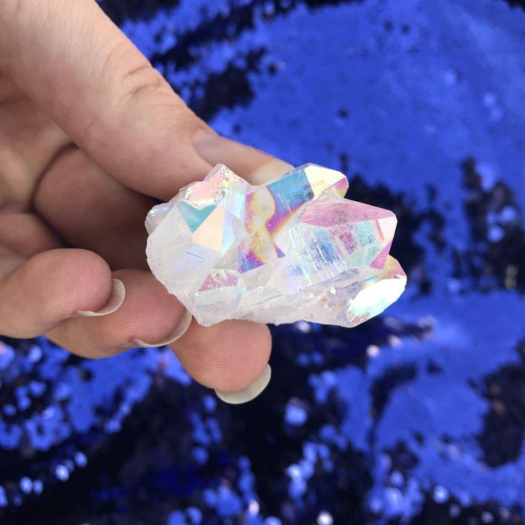 Angel Aura Quartz cluster no.9