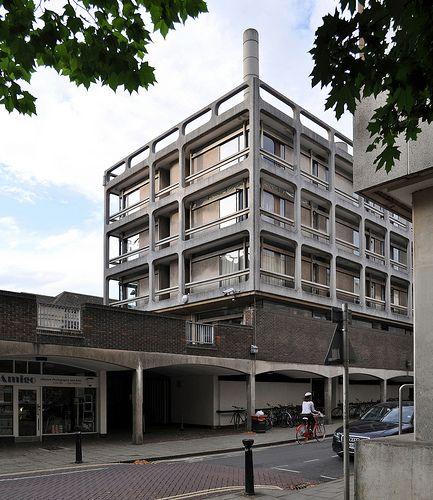 arup associates, vaughan & fry buildings, somerville college, oxford 1958-1966
