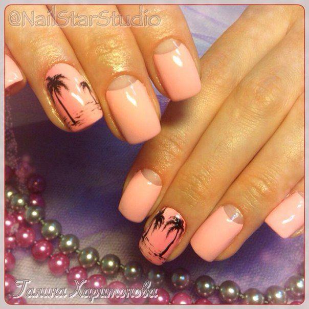 дизайн ногтей пальмы - Поиск в Google