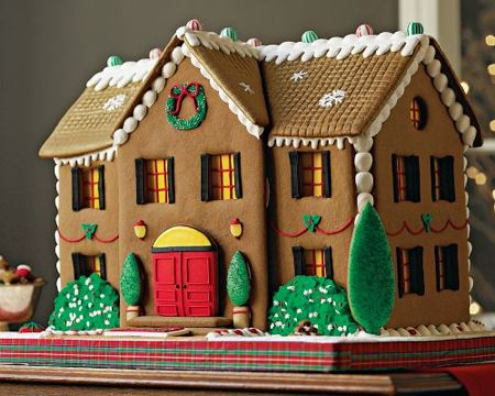 Gourmet gingerbread house by Laura Malesich