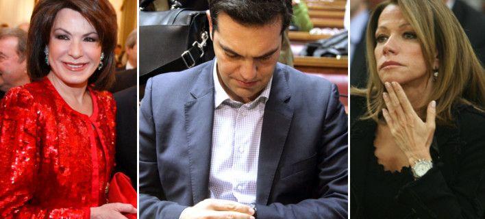 Εκπληκτοι οι θαμώνες του πριβέ κλαμπ Salon de Bricolage στο κέντρο του Κολωνακίου είδαν, πριν από 10 ημέρες, μια απρόσμενη συντροφιά να παίρνει θέση ανάμεσά τους. Τον Αλέξη Τσίπρα, επικεφαλής του ΣΥΡΙΖΑ, ο οποίος συνόδευε δύο υπέρκομψες και βαθύπλουτες κυρίες, την Γιάννα Αγγελοπούλου και την Μαριάννα Λάτση. Στην παρέα βρισκόταν και οι δύο νέοι γόνοι των οικογενειών, ο Παναγιώτης Αγγελόπουλος και ο Πάρις Κασιδόκωστας.