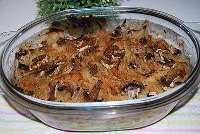 Karkówka zapiekana ze słodką kapustą