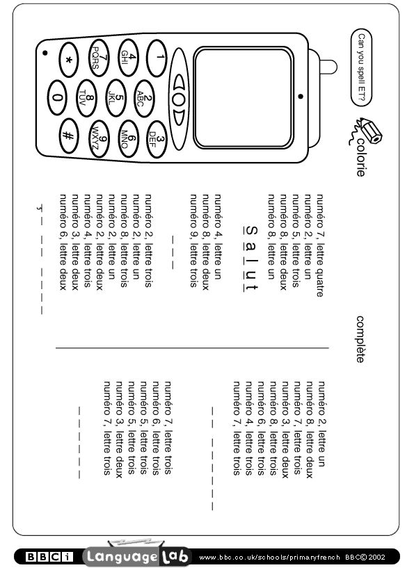 primary french printable worksheet mes cours vivi. Black Bedroom Furniture Sets. Home Design Ideas