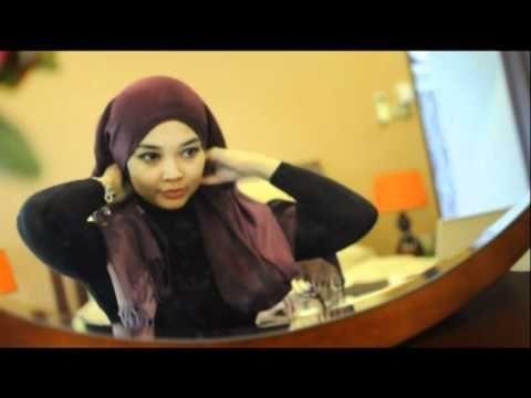 Tutorial Pashmina Shawl Abiya Muslimah - YouTube