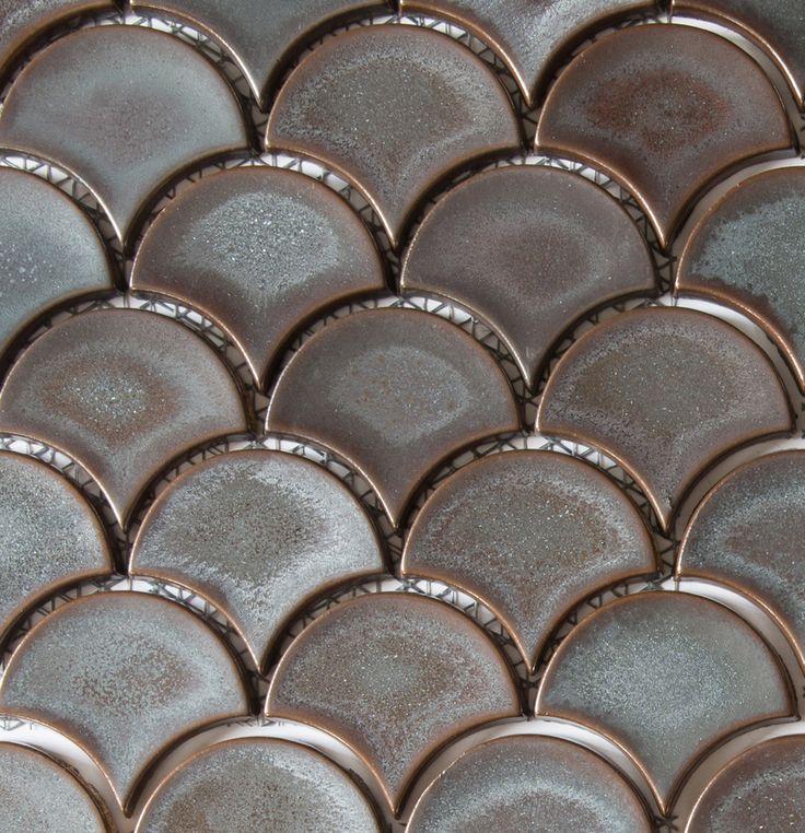 Academy Tiles - Ceramic Mosaic - Fan Mosaics 81 x 93mm - 85844