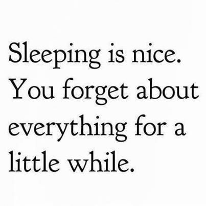 sleep quote, that's if you can get to sleep...