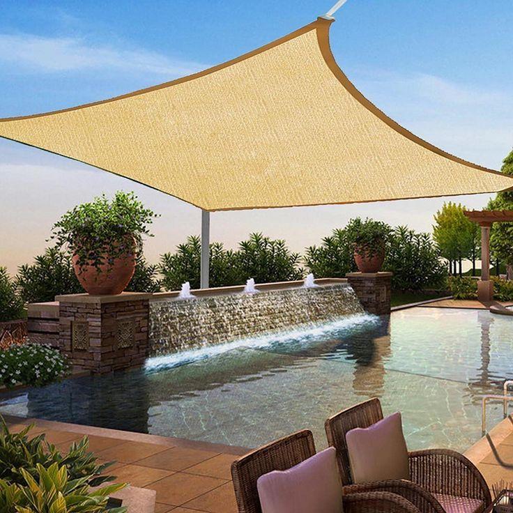best 25 triangle sun shade ideas on pinterest triangle. Black Bedroom Furniture Sets. Home Design Ideas