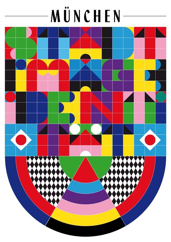 Daniela Wiesemann | München, City Poster Contest