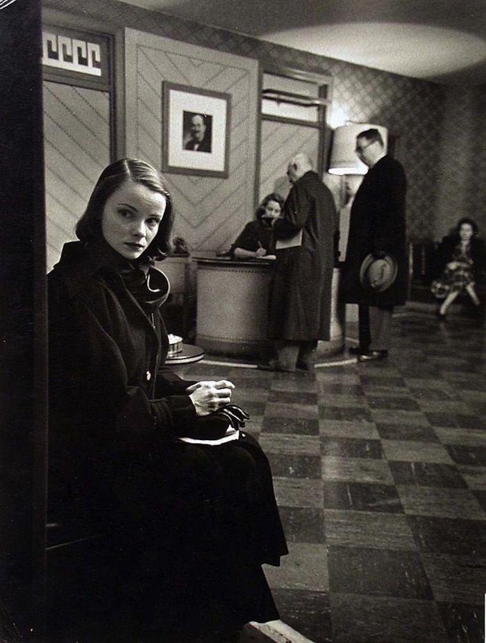 """Jean Pearson, """"Theatre Girl,"""" 1949 (W. Eugene Smith)"""
