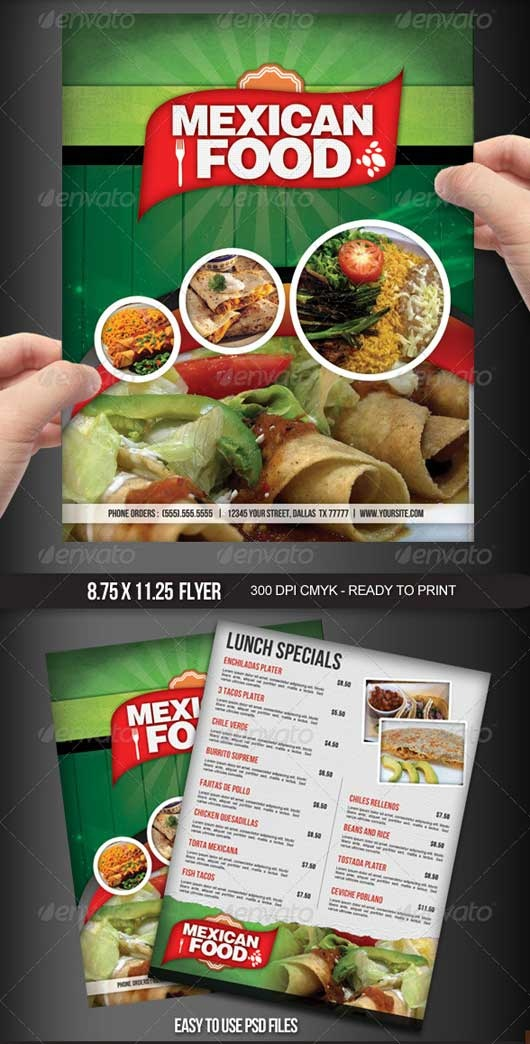 Best Menu Images On   Food Menu Template Menu