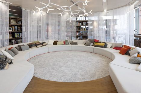 Google Super HQ by PENSON - design inspiration for big kids
