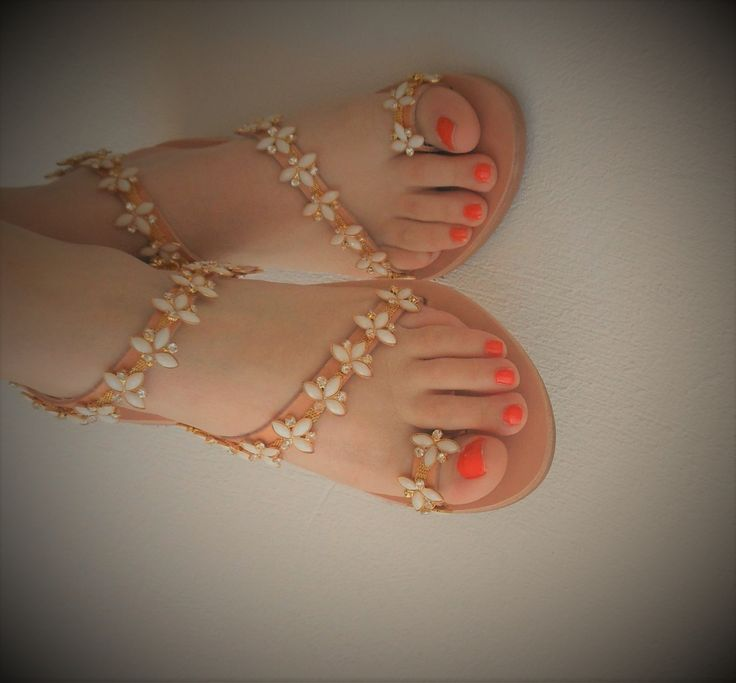 VALENTINE'S GIFT! Bridal Flat Sandals, Greek Leather Sandals for Beach, Seaside Wedding Sandals, Luxurious Flats, Rhinestones Shoe Flat Sandal, Luxury Chic by ENOTIA on Etsy