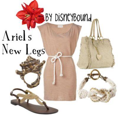Disney: Disney Outfits, Little Mermaids, Legs, Disneybound, Disney Clothes, Disney Bound, Disney Fashion
