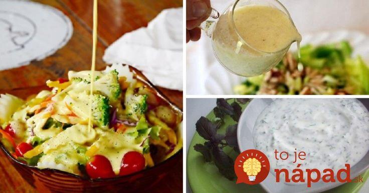 Namiesto tatarky a majonézy: 7 tipov na zdravé zálievky, ktoré chutia vynikajúco!