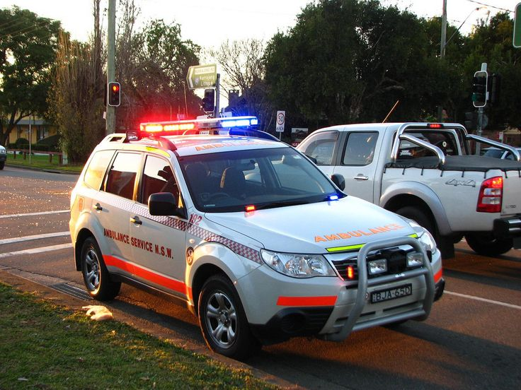 NSW Ambulance Rapid Response Subaru Forester AWD Subaru