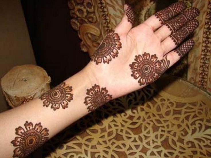 Beautiful Arabic Mehndi Designs