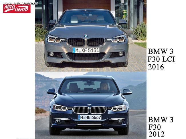 Баварцы обновили шестое поколение BMW 3 серии (F30). Что же появилось нового?