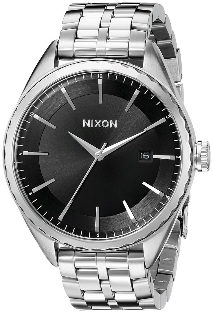 Nixon Women's A934000 Minx Analog Display Swiss Quartz Silver Watch * Details can be found by clicking on the image.