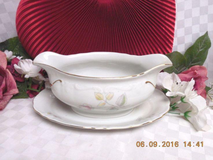 Winterling Bavarian China Dinnerware, Pattern #WIG21 Gravy boat