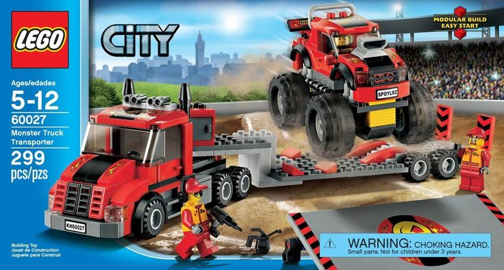 LEGO City Monster Truck Transporter 60027 - Discount Toys USA