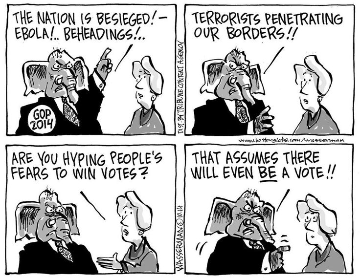 Just change 2014 to 2016 & consider that if Trump threatened riots if he didn't get the nomination (aka instructions to his minions) - what do you think he'll instruct his minions to do if he loses the general election? Which is why it needs to be a landslide.