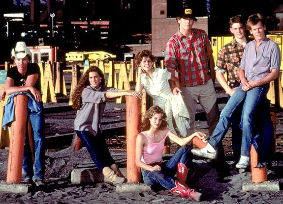 Has it really been 27 years since 'Footloose'? The '80s classic starring Kevin Bacon as city boy Ren McCormack, who inspires a sleepy small town to cut loose, footloose, kick off its Sunday shoes - you know the rest - still feels fresh today.  Hollywood must have caught a case of dancing fever. A remake of the popular film just hit theaters. Take a look at the original cast of 'Footloose,' which first hit theaters in 1984, and see what the stars are up to now ...