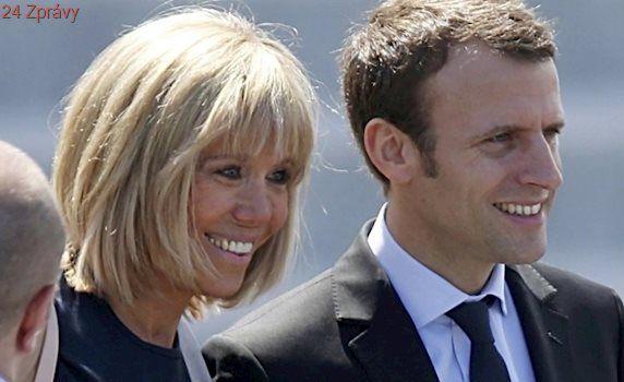Brigitte Macronová: První dáma Francie stane po boku prezidenta v Elysejském paláci