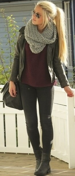 Great outfit and Scarf <3