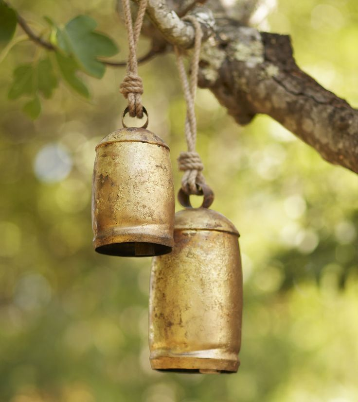 temple bells: prettier than windchimes