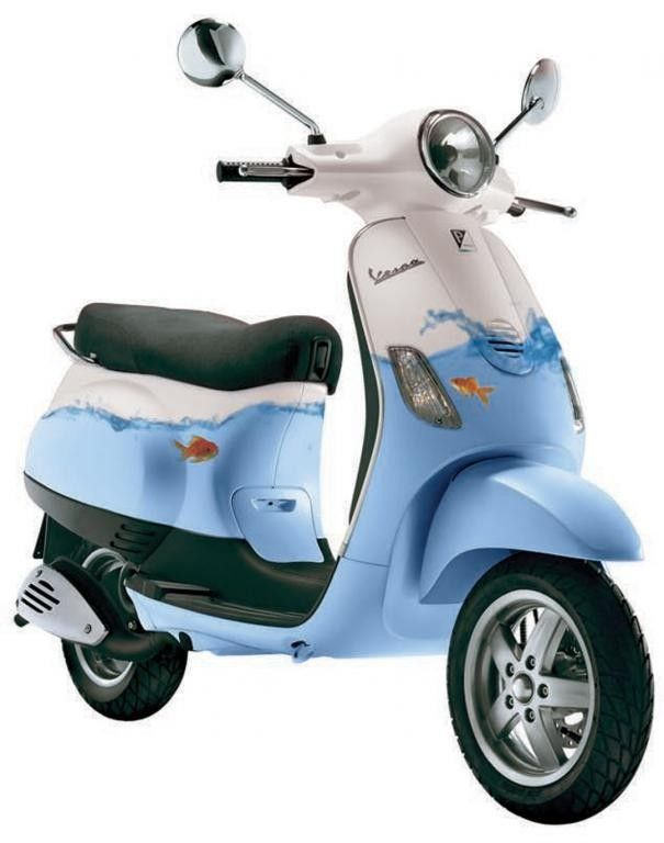 After three attempts in four years, David Newenhuizen of BandC Group scooped first prize in the 2009 Art Vespa design competition.