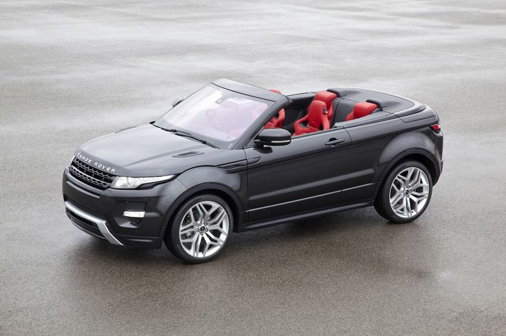 We can't wait! The Range Rover Evoque Convertible is headed our way.