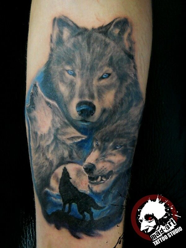 46 besten scary wolf tattoos for men bilder auf pinterest wolf tattoos wolf tattoo design und. Black Bedroom Furniture Sets. Home Design Ideas