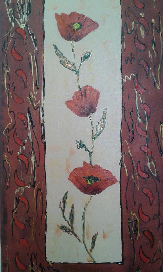 tableau peinture sur toile 3d