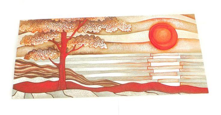 cartapietra - tramonto rosso - 100966 ro