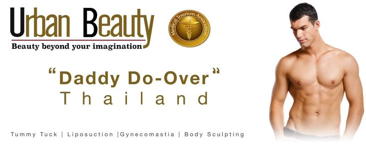 Daddy Do-Over Thailand: the ultimate male makeover - Cosmetic Surgery Thailand. For the best price surgery in Thailand quote: Male Plastic Surgery Package Thailand / Liposuction Thailand / Gynecomastia Thailand / Tummy Tuck Thailand / Neck Lift Thailand / Eye Bag Surgery Thailand / Hair Transplant Thailand / Botox Thailand / Fillers Thailand / CoolSculpting Thailand / HGH Thailand /