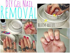 Lulu & Sweet Pea: remove gel nails at home