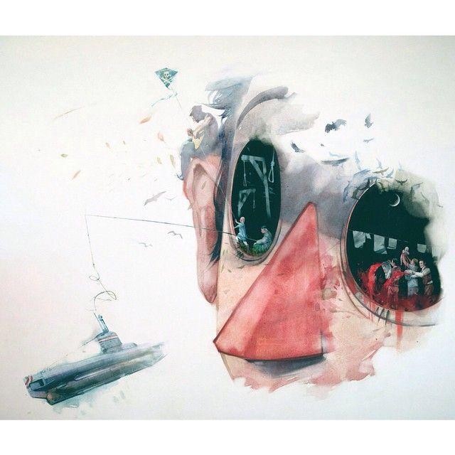 25-28 сентября | ЛЮСТРА   Выставка: Дима Ребус   #lustrafest #art #illustration #design #moscow #иллюстрация #искусство #rebus #dimarebus