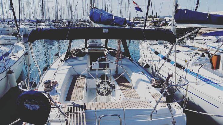https://www.instagram.com/p/BVhIa9flS1A/ #travel #traveling #visiting #instatravel #instago #water #outdoors #rope #harbor #pier #yacht #ship #watercraft #summer #sky #sea #boat #croatia #zadar #sukosan #sail #sailing #sailer #nautical #sun #morning #freedom #goodmorning #world #traveler